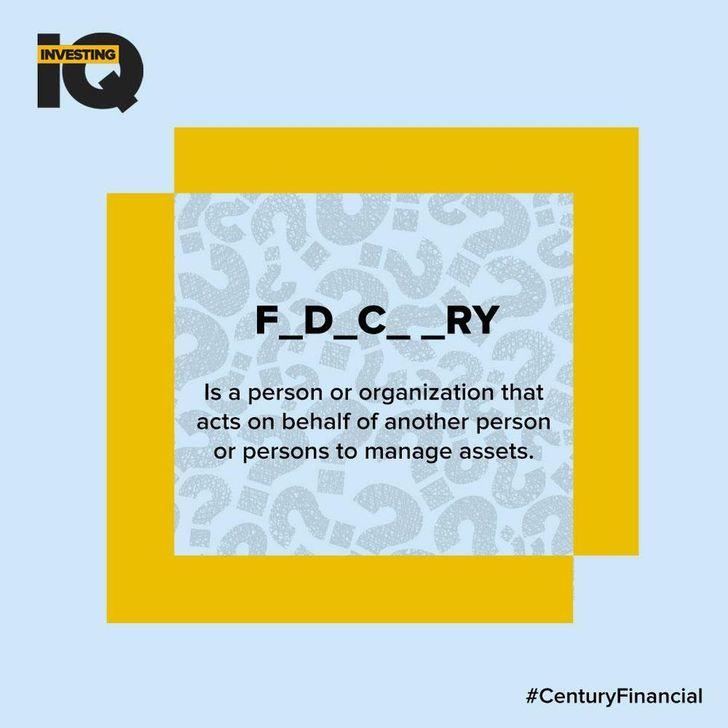 IQ - Answer-Fiduciary - Century Financial