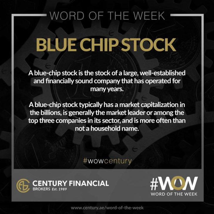 Blue Chip Stock - Word of the Week   Century Financial