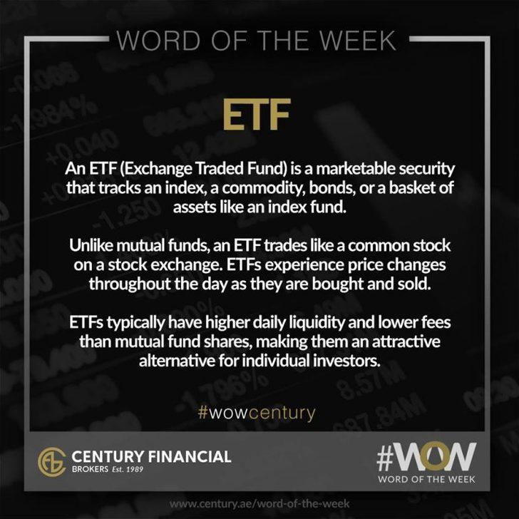 ETF - Word of the Week | Century Financial