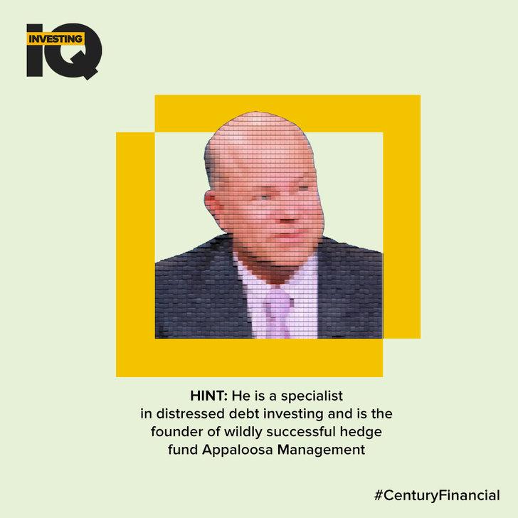 Investing IQ - Answer-David-Tepper- Century Financial