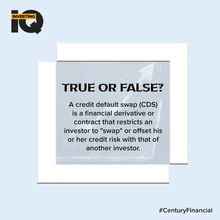 IQ - Answer - False - Century Financial