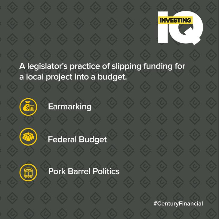 IQ - Ans-Pork-Barrel-Politics- Centuey Financial