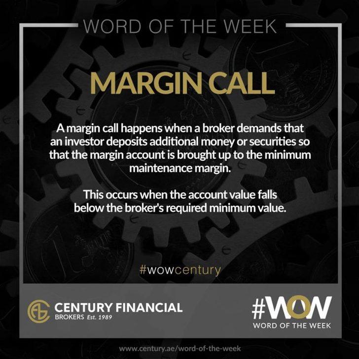 Margin Call - Word of the Week | Century Financial