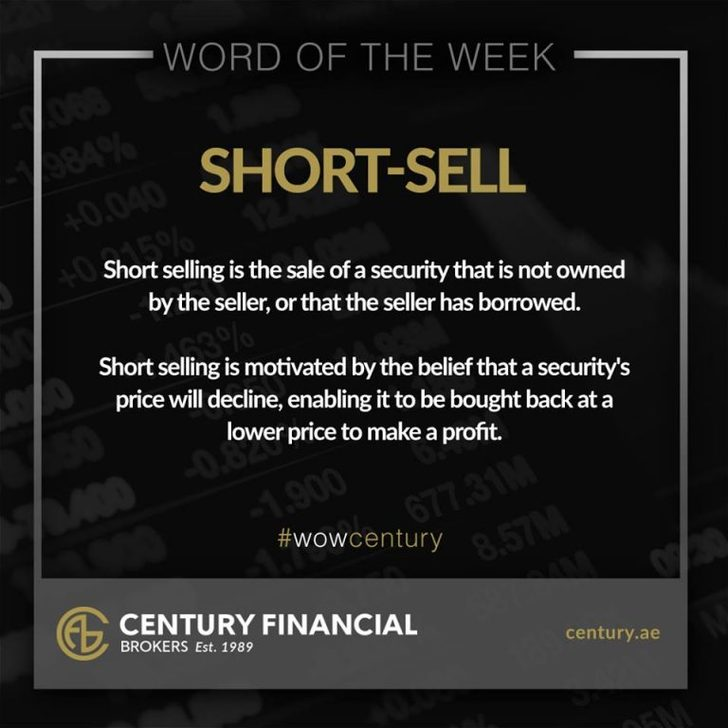 Short Sell - Word of the Week | Century Financial