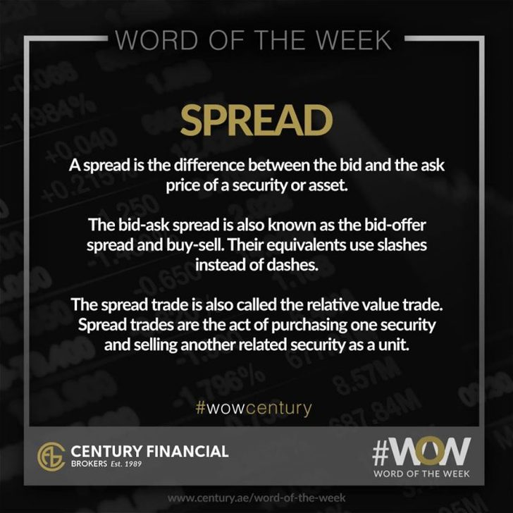 Spread - Word of the Week   Century Financial