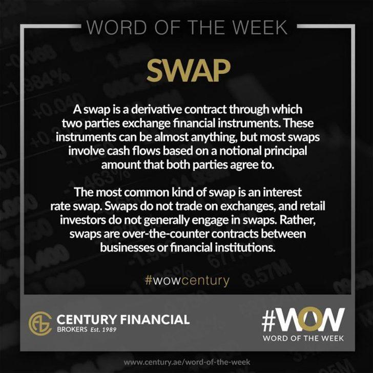 Swap - Word of the Week   Century Financial
