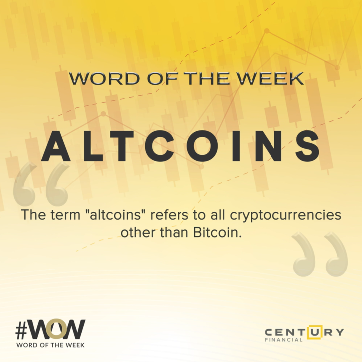 Altcoins - Word of the Week | Century Financial