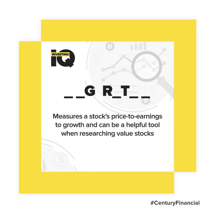 IQ - Answer-Peg-Ratio - Century Financial