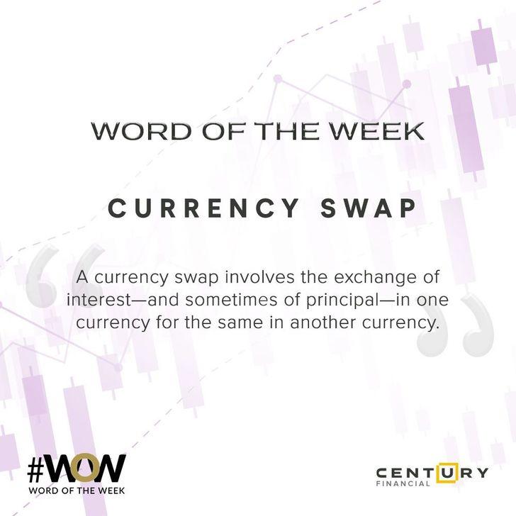 Currency Swap - Word of the Week | Century Financial