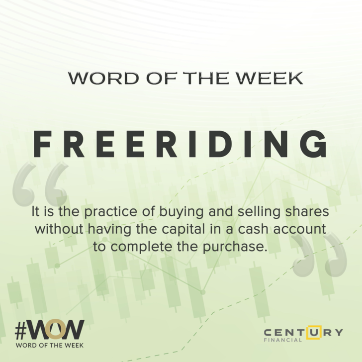 Freeriding - Word of the Week   Century Financial