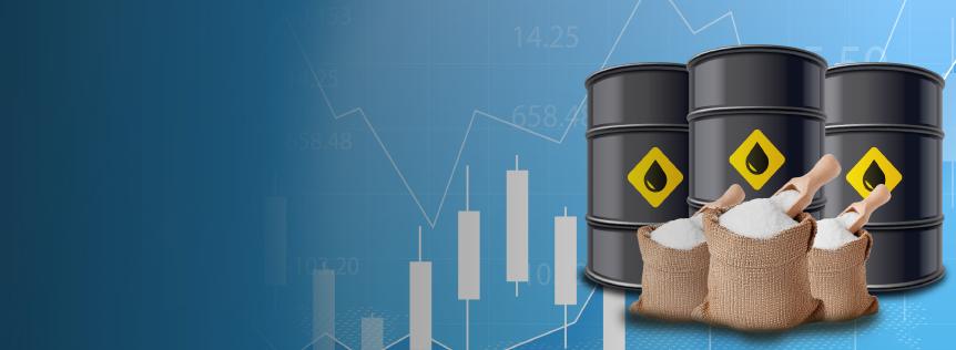 Raw Sugar – Brent Crude Oil