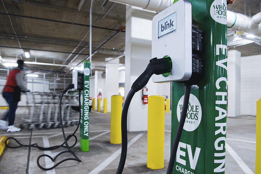 Can Blink Charging and ChargePoint's share prices power up?