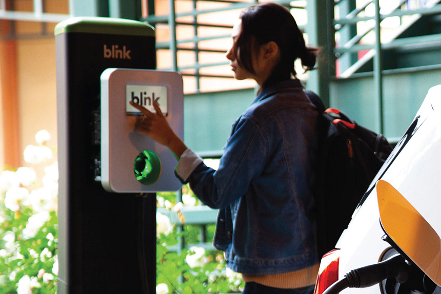 Is Blink Charging's share price drive sustainable?