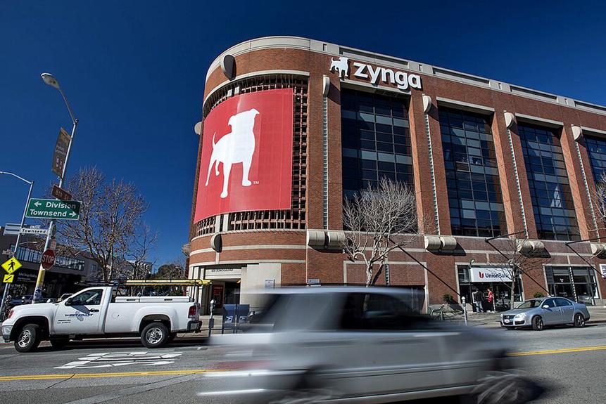 Zynga's share price