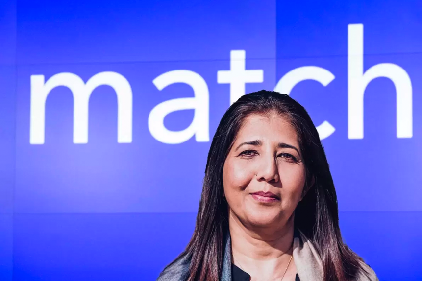 How did Match Group's share price react to S&P 500 listing?