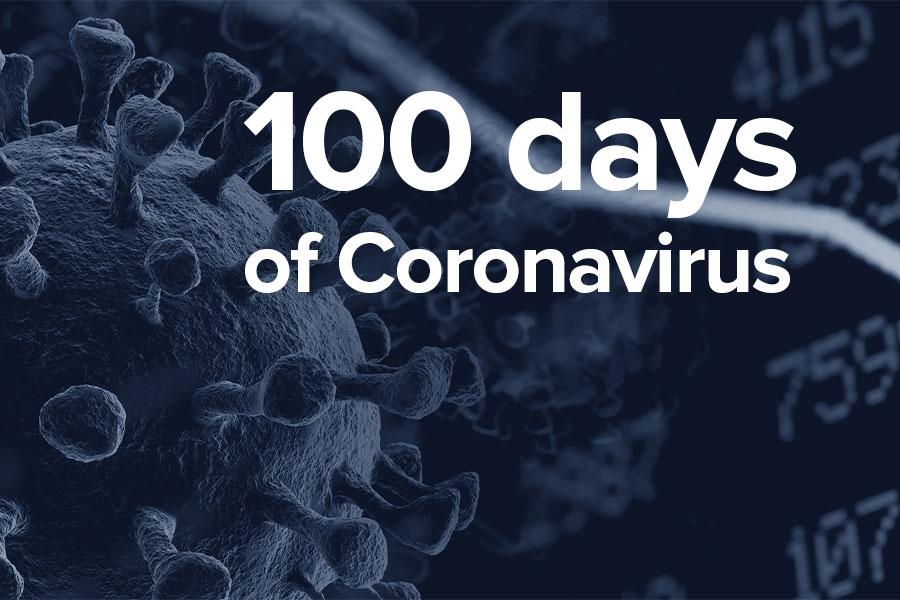 100 days of Coronavirus