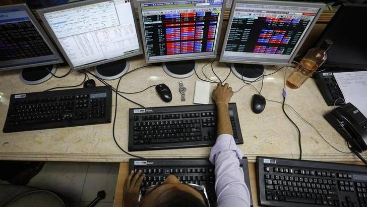 Khaleej Times - Sensex, Nifty tick higher in...