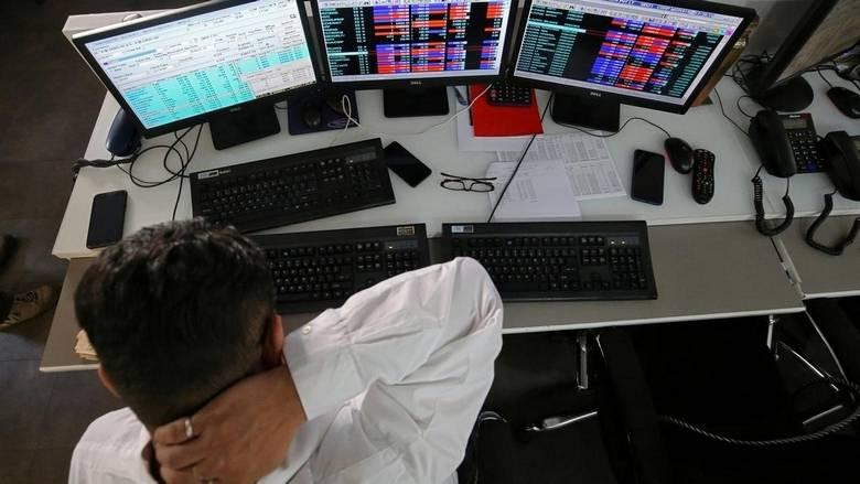 Khaleej Times - Sensex, Nifty drops as Reliance...