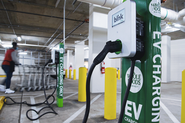 Can Blink Charging and ChargePoint's share...