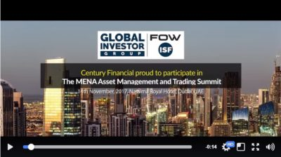 Century Financial at the MENA Asset Management...