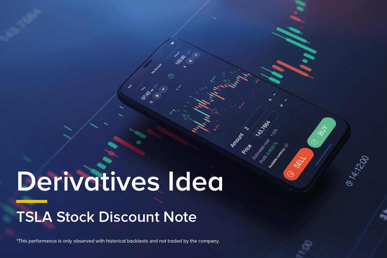 Derivatives Idea - TSLA Stock Discount Note