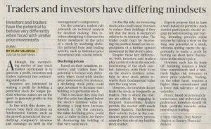 Gulf News – Investing vs Trading