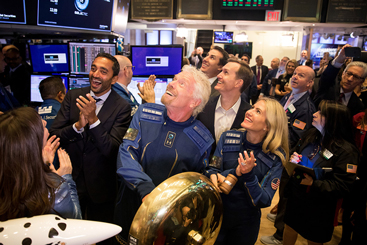 Has Virgin Galactic's share price got space to...