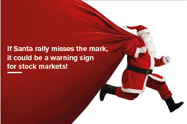 If Santa rally misses the mark, it could be a...