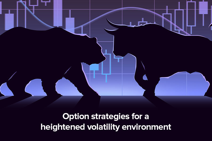 Option strategies for a heightened volatility...