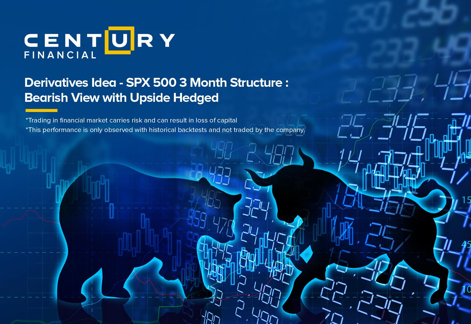 Derivatives Idea - SPX 500 3 Month Structure:...