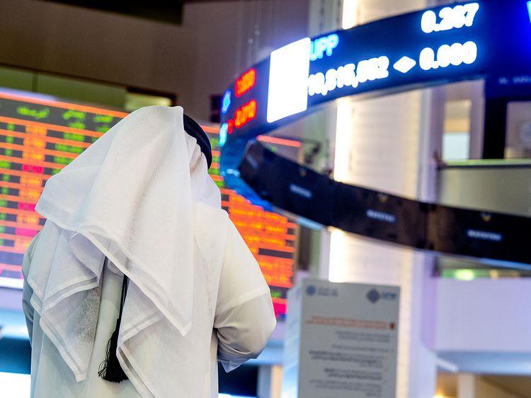 Gulf News - UAE's stock markets drop their good...