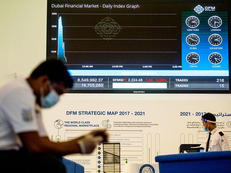 Gulf News - UAE equities remain shaky ahead of...