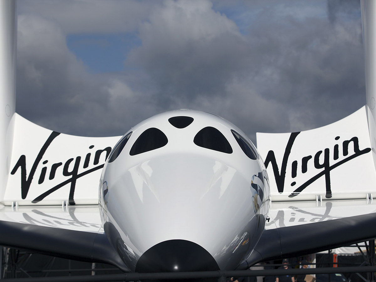 Is Virgin Galactic's share price about to blast...