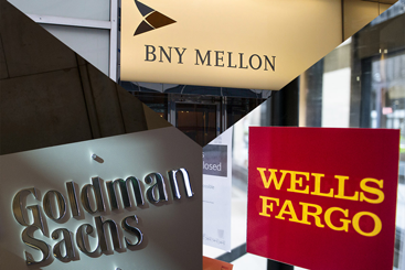 Who is banking on BNY Mellon, Goldman Sachs and...