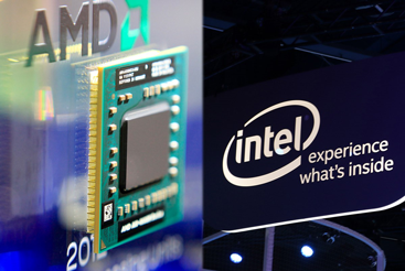 Why is AMD's share price beating Intel's?