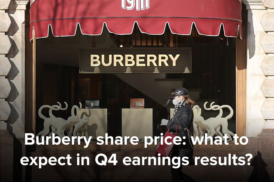 Burberry share price: what to expect in Q4...