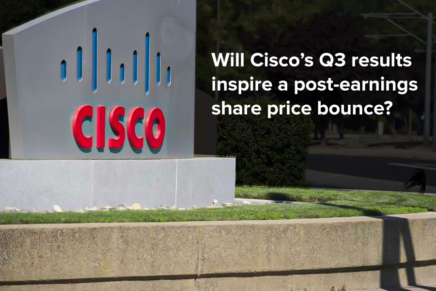 Will Cisco's Q3 results inspire a post-earnings...