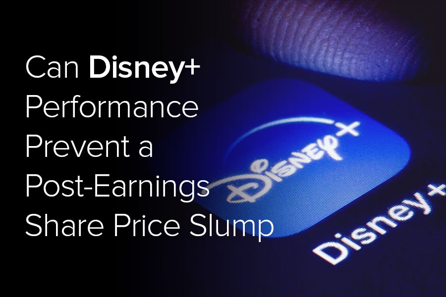 Can Disney+ performance prevent a post-earnings...