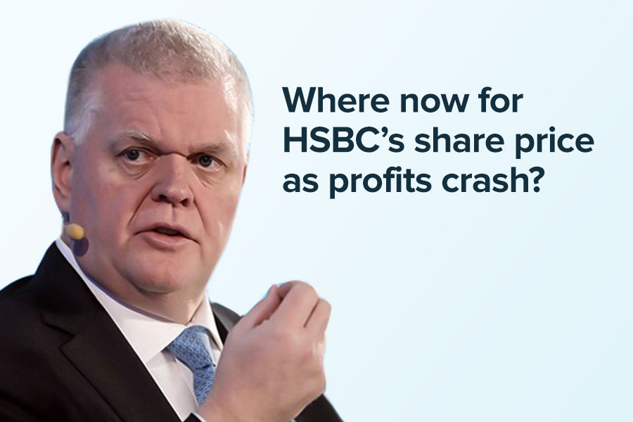 Where now for HSBC's share price as profits crash?