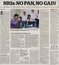 Khaleej Times – Why having Aadhar, PAN card is...