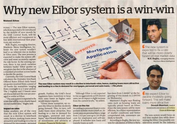 Why new Eibor system is a win-win