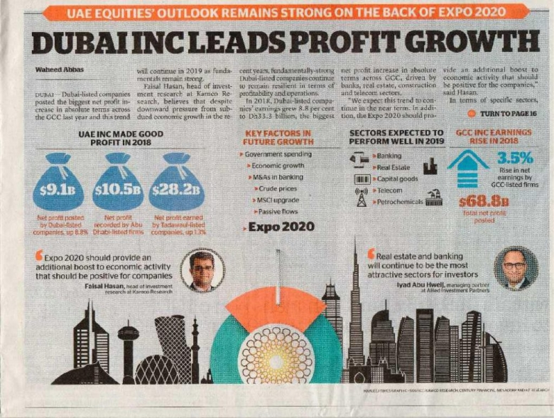 Khaleej Times – Dubai Inc Leads Profit Growth...