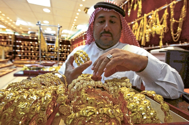 Gulf News – Gold prices in Dubai fall further...