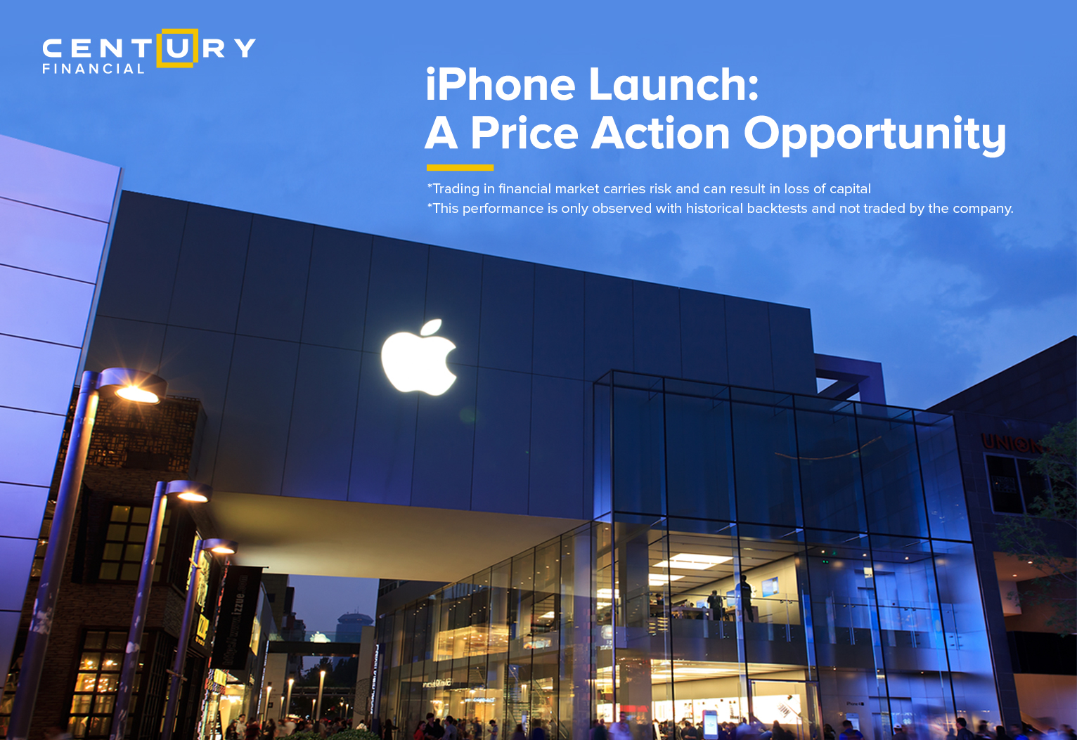 iPhone Launch: A Price Action Opportunity