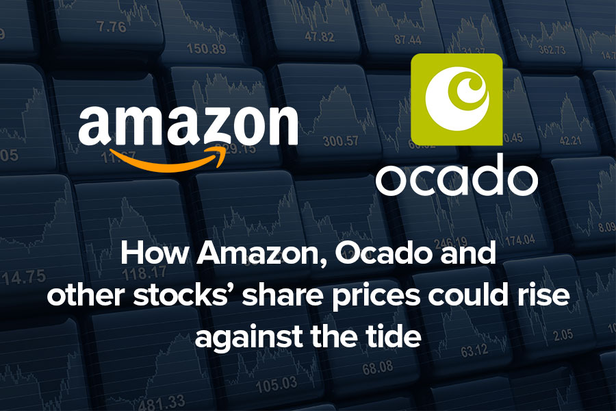 How Amazon, Ocado and other stocks' share...