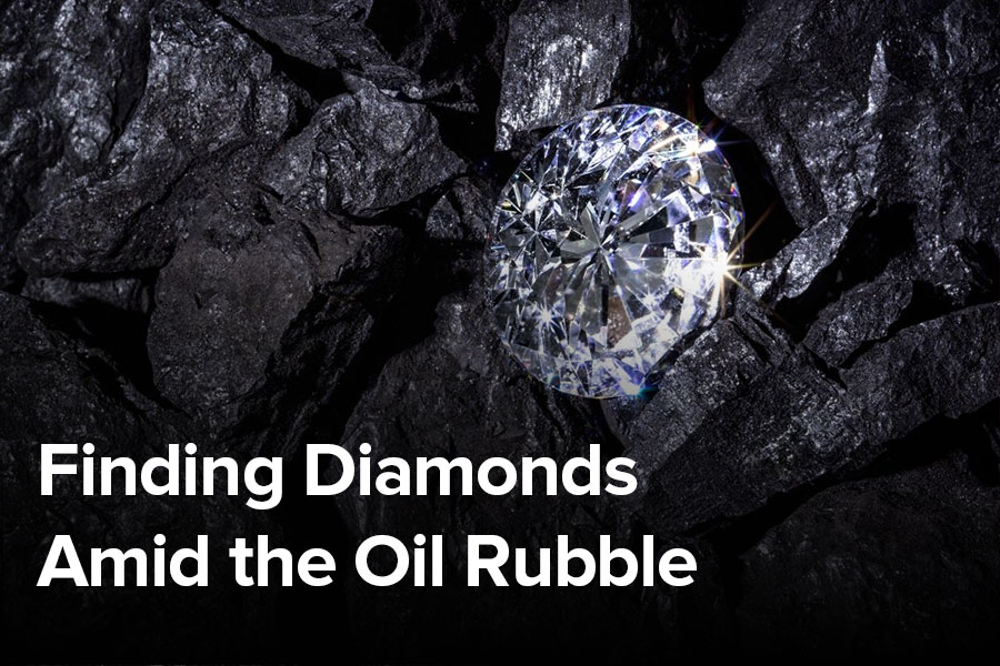 Finding Diamonds Amid the Oil Rubble