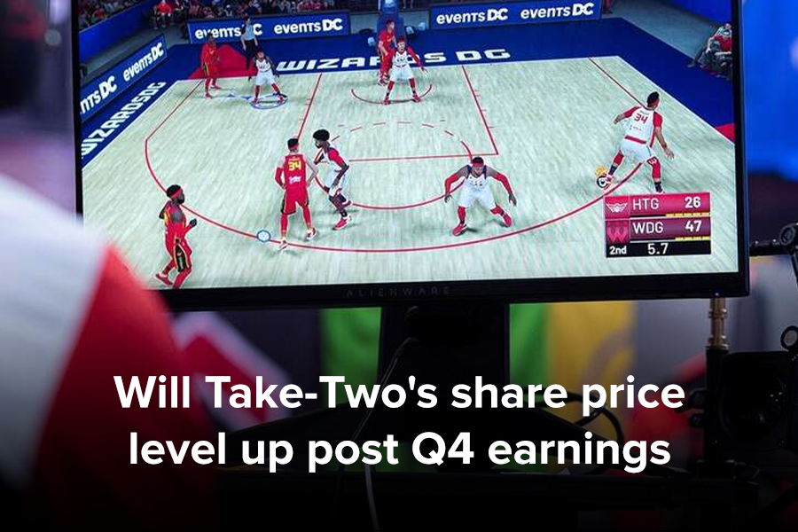 Will Take-Two's share price level up post Q4...