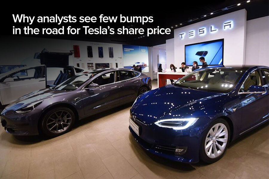 Why analysts see few bumps in the road for...