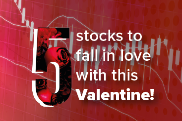5 stocks to fall in love with this...