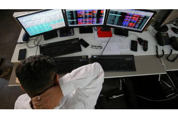 Khaleej Times - Sensex, Nifty drops as...